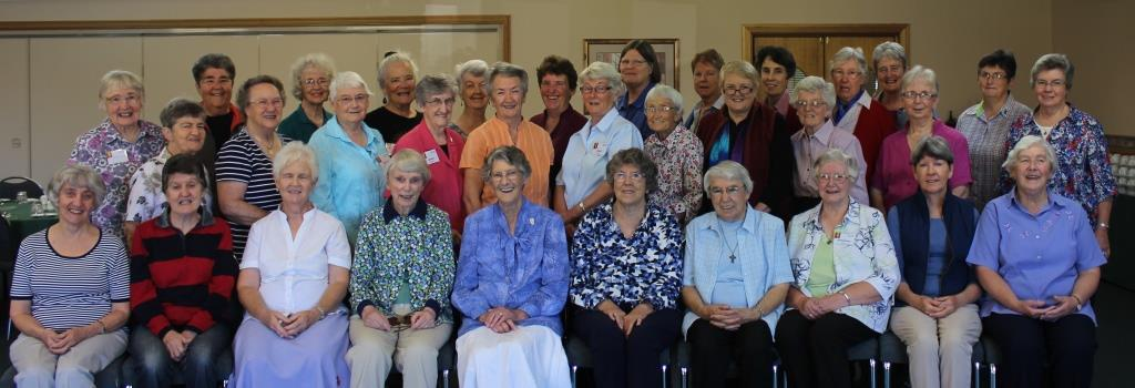 Sisters attending first Session of Chapter 2014
