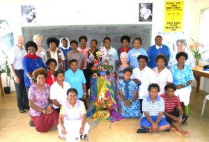 1.The Sisters who completed the Leadership Workshop with Ken Shakespeare and three Mercy Sisters from Australia
