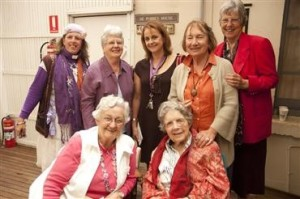 Sisters and Volunteers at the opening of Nagle House