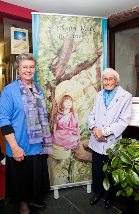 Sr. Margaret Walsh from Australia and Sr. Noela Fox